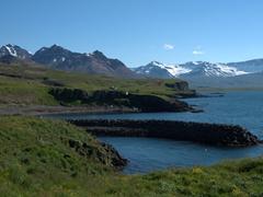 Views over  Borgarfjörður Eystri