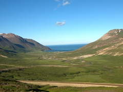 Parting view of our drive out to remote  Borgarfjörður Eystri