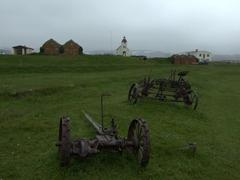 Farming equipment on Möðrudalur Farm