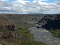 Vista of Jökulsárgljúfur Canyon