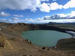 Viti Crater Lake; Mývatn
