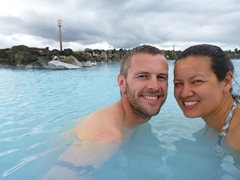 We enjoyed having the Mývatn Nature Baths all to ourselves for the first 20 minutes after opening