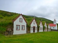 Laufás turf houses; Eyjafjörður