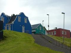 Colorful houses in Akureyri