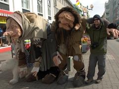 Robby with the Akureyri trolls