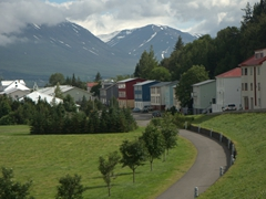 Picturesque Akureyri is northern Iceland's largest town. It defintely warrants a quick visit