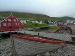View of the Herring Era Museum; Siglufjörður