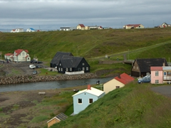 Hofsós (one of northern Iceland's oldest trading ports). Today, it is famous for its infinity pool