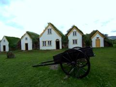 Glaumbær old turf farmhouse