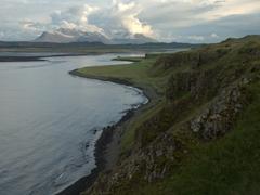 View of Osar's pretty coastline