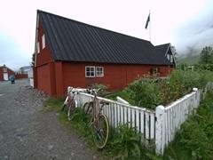 Some of Ísafjörður's oldest buildings are near its Maritime Museum