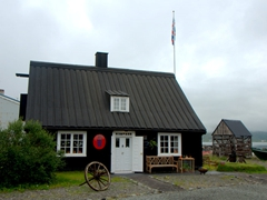 Cottage near Ísafjörður Maritime Museum