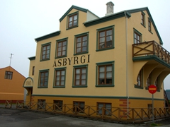 Ísafjörður is worth a stroll to check out its interesting architecture