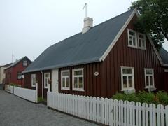 Built in the early 20th Century, these houses of Ísafjörður reflect a boom from the bygone salt cod era