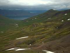Winding roads of Iceland's West Fjords