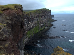 Be very careful at Látrabjarg Cliffs! A tourist plunged to his death in 2010 when he inadvertently slipped over the edge