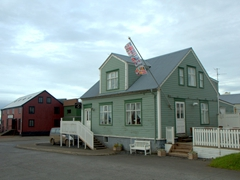 There are quite a few perfectly preserved antique houses in quaint Stykkishólmur