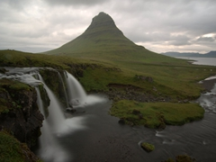 Beautiful Kirkjufell mountain