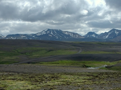 F35 Kjölur Route, a highland road leading us to the interior of Iceland