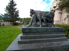 One of the few free things to do in Reykjavik, take a stroll through the interesting Einar Jónsson Sculpture Garden