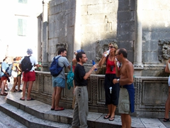 Popular water fountain, Dubrovnik