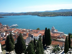 Scene from the Dalmatian Coast