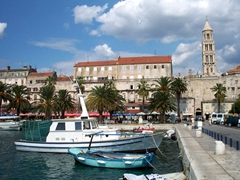 Lovely harbor view, Trogir