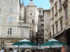 City center, Split