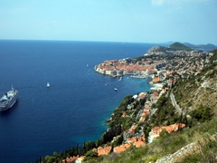 Dubrovnik is a popular port of call for cruise lines visiting Croatia