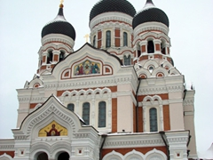 Alexander Nevsky Cathedral, Toompea Hill