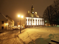 Out for a midnight stroll in Tartu