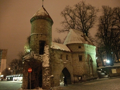 Snowy view of the Viru Gates
