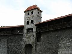 Guard tower in the city wall; Tallinn