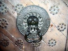 Lion door knocker, Tallinn