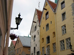 Beautiful architecture abounds in Tallinn