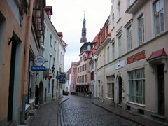 The medieval core of old Tallinn is a joy to discover on foot