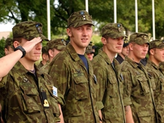"""Estonian military review during """"Rescuer/Medcuer"""" exercise"""