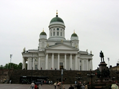 The Lutheran Cathedral in Senate Square