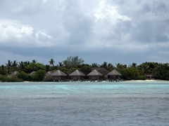 We passed by dozens of similar island resorts along the various Maldive Atolls