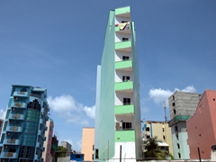 Interesting architecture in Malé