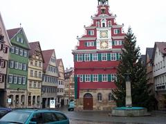 Esslingen's gorgeous city center is a fantastic place to explore on foot