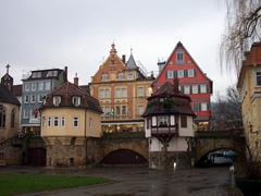 We love the city of Esslingen am Neckar, a scenic city about 10 km from Stuttgart. The small town is situated within the Neckar Valley