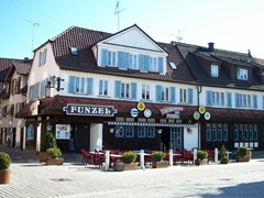 The Funzel Restaurant in Sindelfingen has delicious local Swabian and Austrian specialties...and its was a 2 minute stroll from our home!