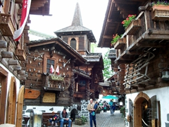 Wooden log village at Europa Park, Europe's second most popular theme park (after Disneyland Paris, of course!)