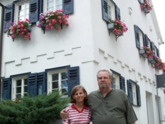 We were happy that Laverne and Bill could pay us a visit in Germany. We really enjoyed their company