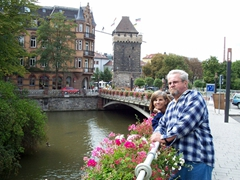 Bill and Laverne enjoying an Esslingen day trip