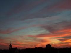 Sunset over Sindelfingen