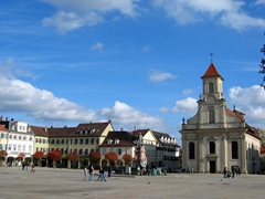 The gorgeous Ludwigsburg city center