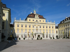 Inner courtyard of the Ludwigsburg Palace