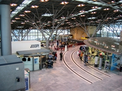 The ever efficient Stuttgart airport served as our base of operations for our long weekend getaways and jaunts to elsewhere in Europe and the Middle East